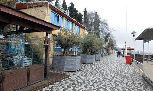 Набережная Массандровского пляжа