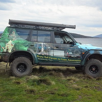 One of our vehicles