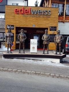 Beatles Memorial at Romerstrasse