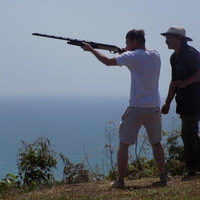 Shooting with Richard