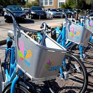 Coast's Blue Bikes