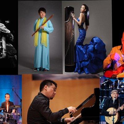 Golden Buddha Jazz orchestra direct from China