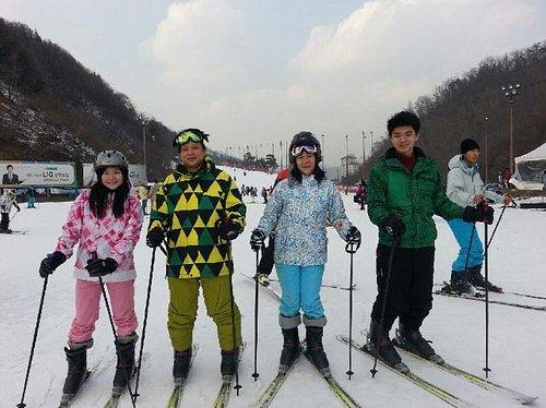 Have a fun with ski tour