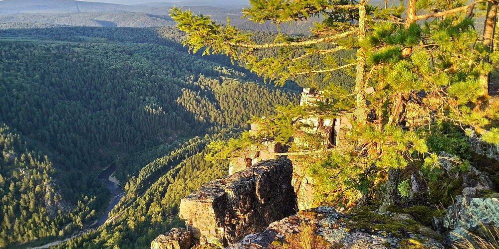 Гора Айгир, река Инзер, Башкортостан