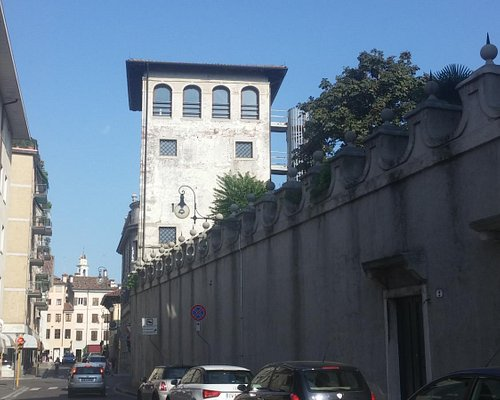 Vista da palazzo Torriani