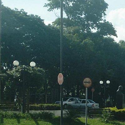 Foto do IZ com vista da avenida