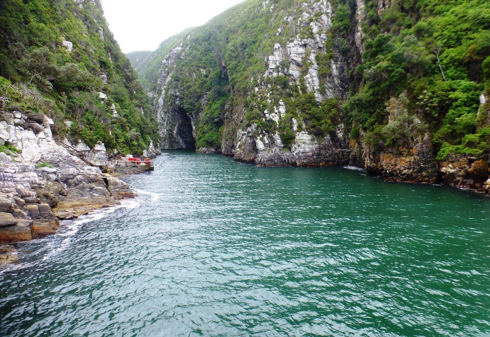 Rio Storm, de película. Por acá entran los kayaks que tambien podés alquilar.