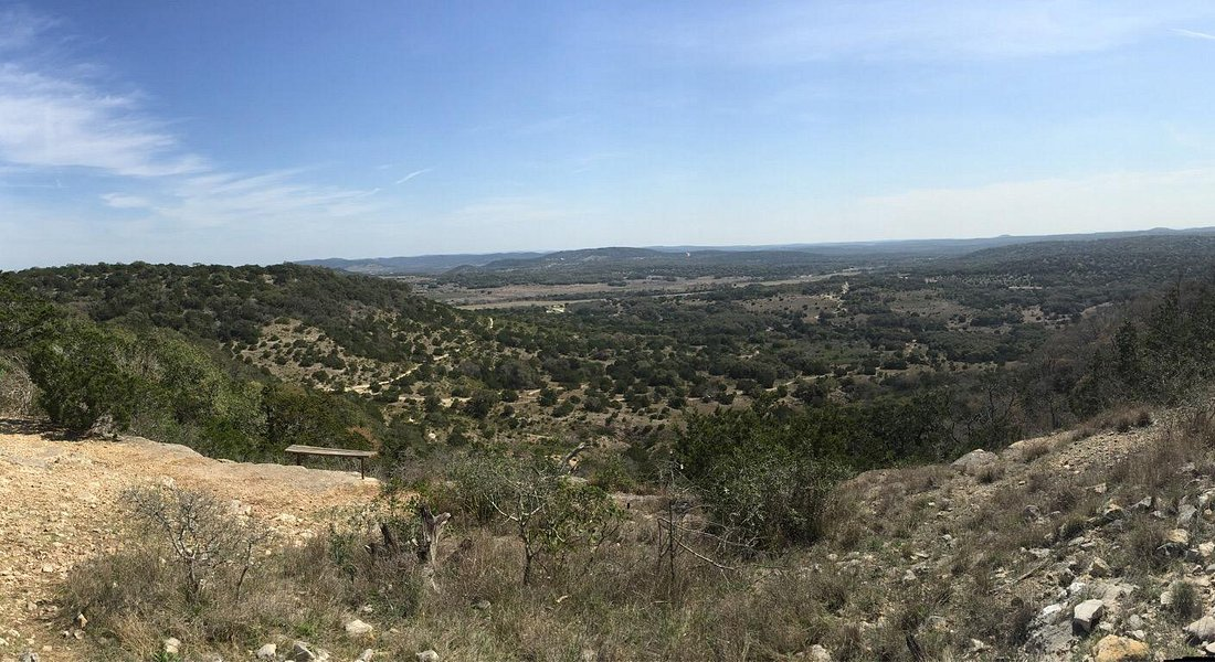 The views from the top of trails 5a and 5b