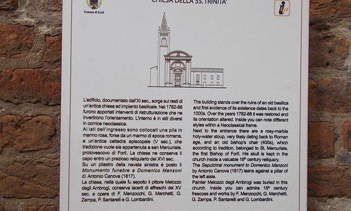 Forlì, Emilia Romagna Italy - Chiesa della Santissima Trinità (11th-18th Century)
