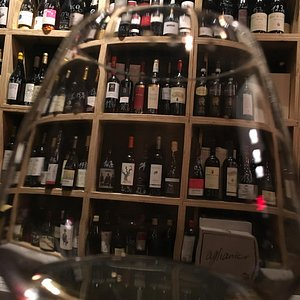 interesting selection of wines