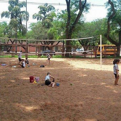 quadra de volley