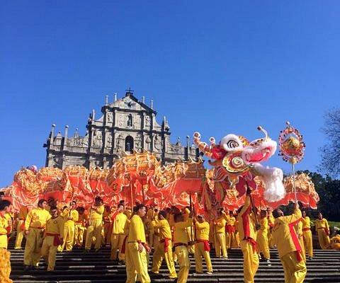 CNY Parade at Ruins of St. Paul
