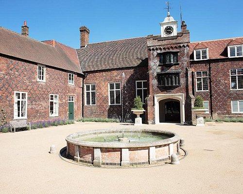 Tudor Courtyard and clocktower