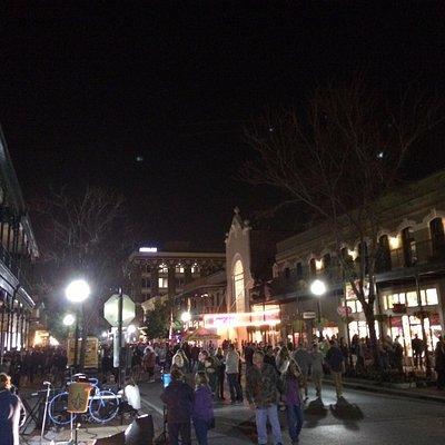 Palafox St on Gallery Night