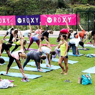 ROXY Yoga & SUP Event!