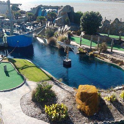 Pirate's Cove mini golf wellington