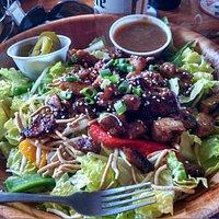 Huge awesome salads!   Best ever