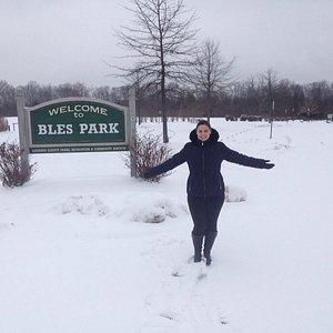 Bles Park com neve