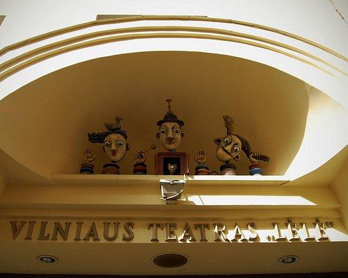 Fasade of Vilnius Theatre Lele