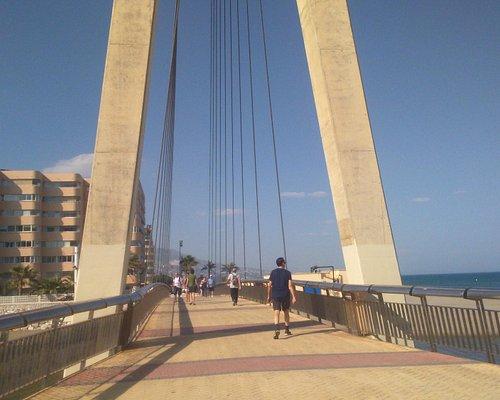 Вот он, мост через реку Фуэнхирола