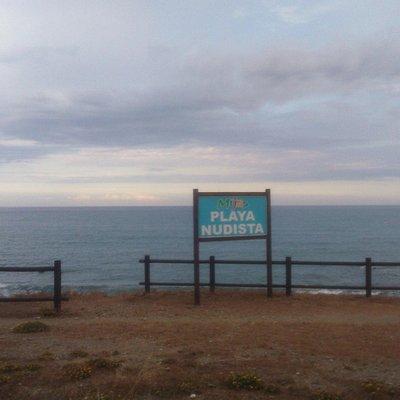 Вывеска пляжа