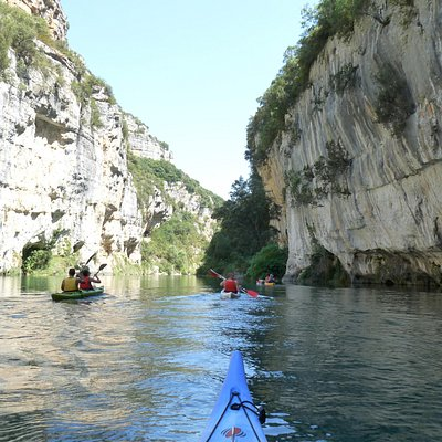 location canoe kayak canyon du verdon aquattitude