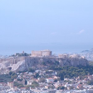 The Acropolis of Athens from Lecabettus hill