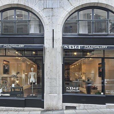 M.A.D.Gallery entrance
