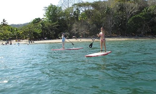 Beautiful Day Paddleboarding and Snorkeling in Punta Leona CR with Mango Adventure Tours!