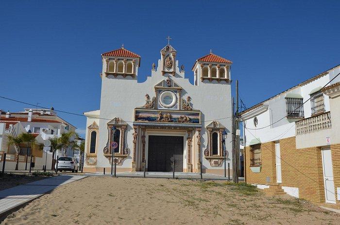 kerk in het zand