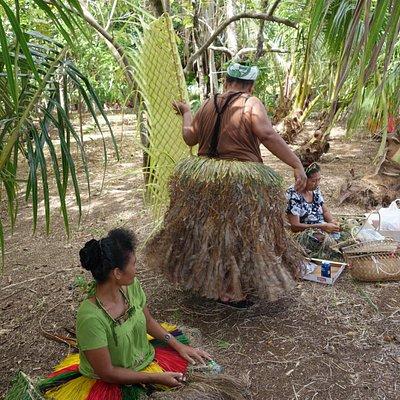 På Yap finns mycket av den gamla kulturen lever kvar.