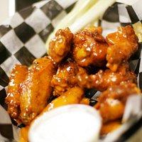 Fresh, never frozen jumbo wings