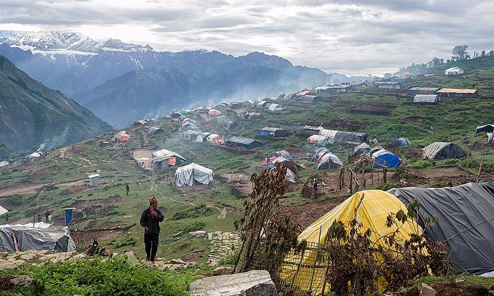 Laprak Village, the epicenter of earthquake that hit Nepal in 2015