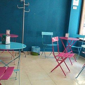 zona de café para padres