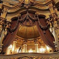 Königliche Loge des Lissabonner Opernhauses von 1793