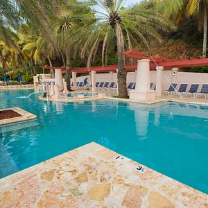 The Morningstar Pool at the Frenchman's Reef & Morning Star Marriott Beach Resort