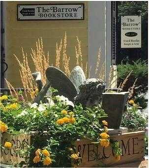 The Barrow Bookstore reading fairy welcomes you.