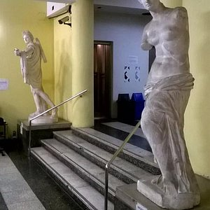 Instituto de Artes; hall de entrada
