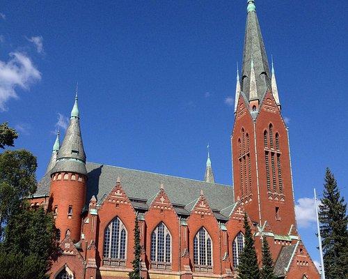 Neogothic exterior of St. Michael's