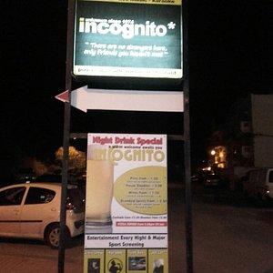 Incognito Nightclub