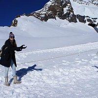 Neve no topo da Europa