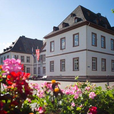 Das Neue Schloss Flügel der Tourist-Information