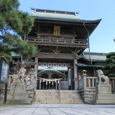 立派な楼門