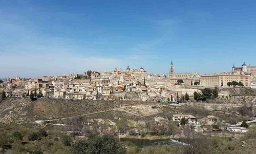 Toledo. Uitzicht over de oude stad