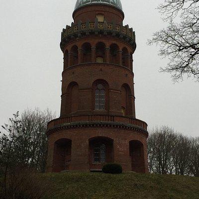 Ernst-Moritz-Arndt Turm mit Treppe! Da wir im März den Turm besucht haben wirkt alles etwas tris
