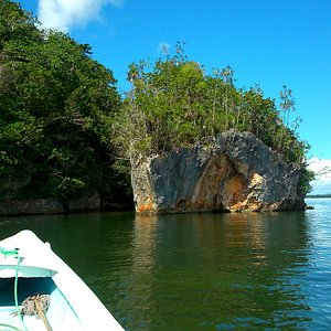 Islands and caves to explore