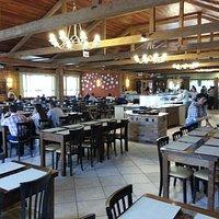 Salão do Restaurante Cansian Zamban