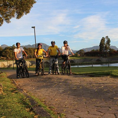 This is the Buddy Bike Tour at the Simon Bolivar Park