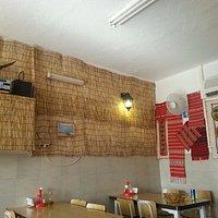 A corner at the restaurant