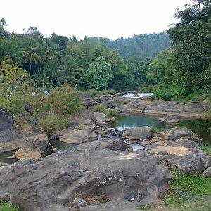 Sree Narayanapuram Ripple Waterfall